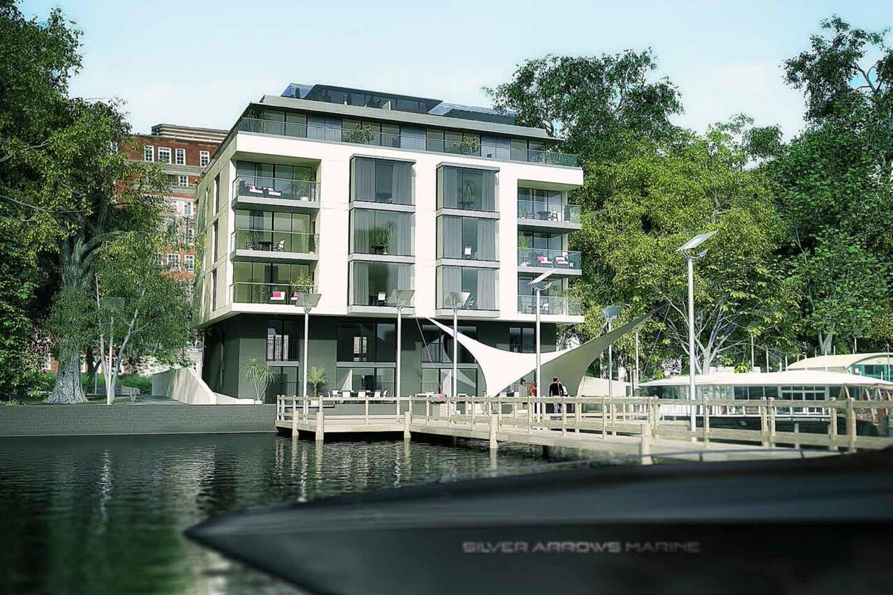 Planning consent granted for 135 Grosvenor Road