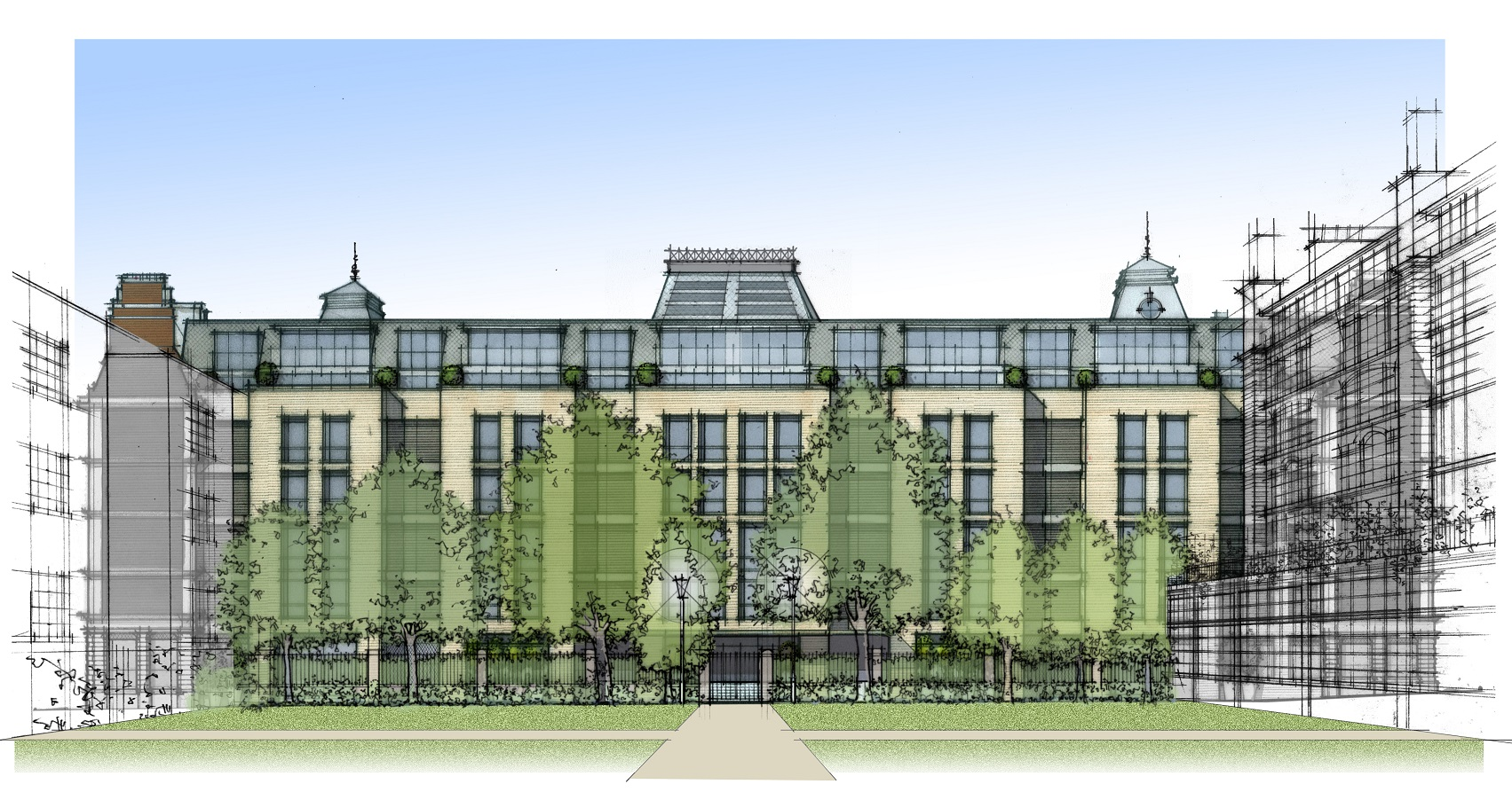 Grosvenor Gardens House - Eaton Lane