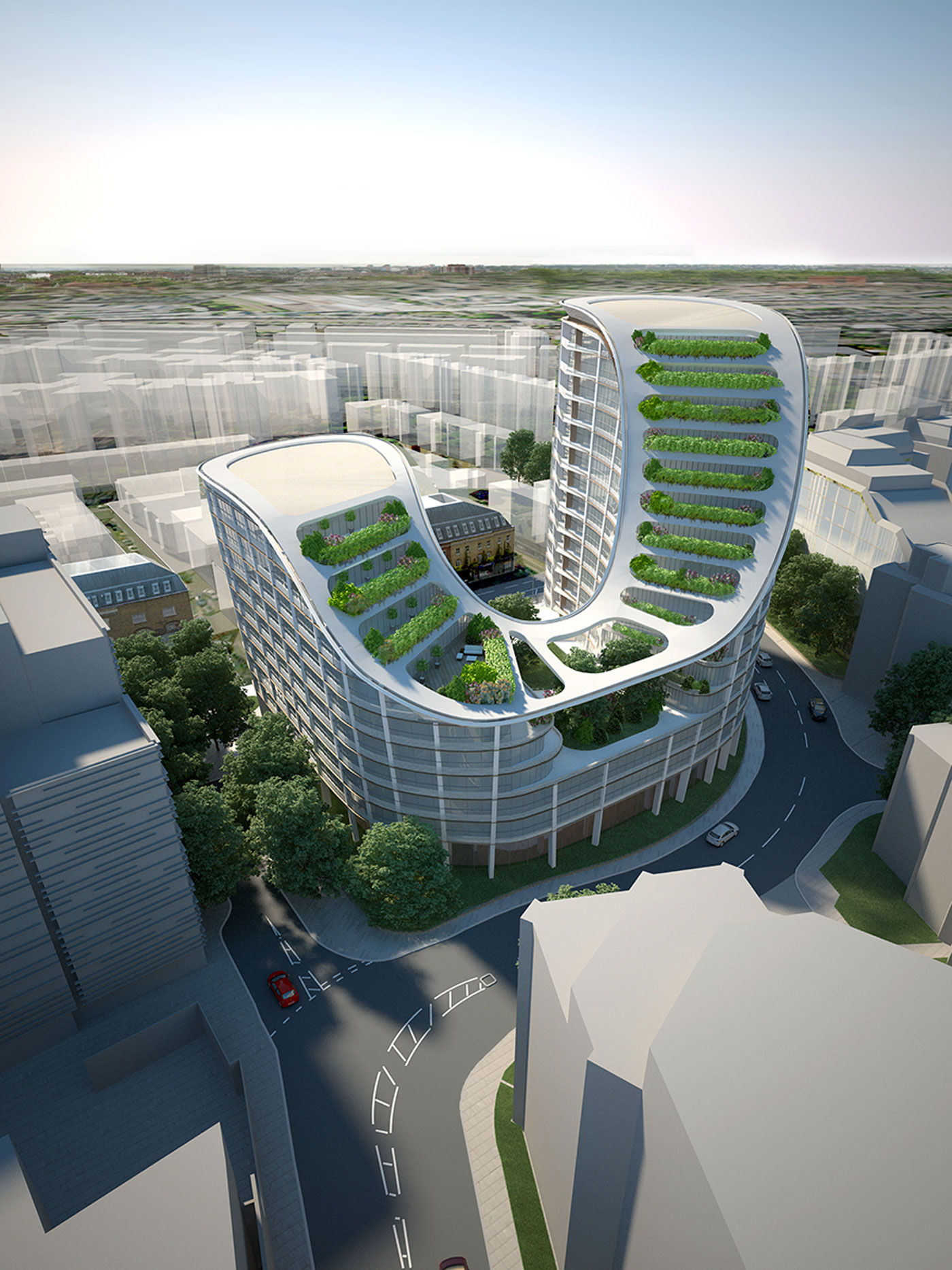 mixed use scheme london
