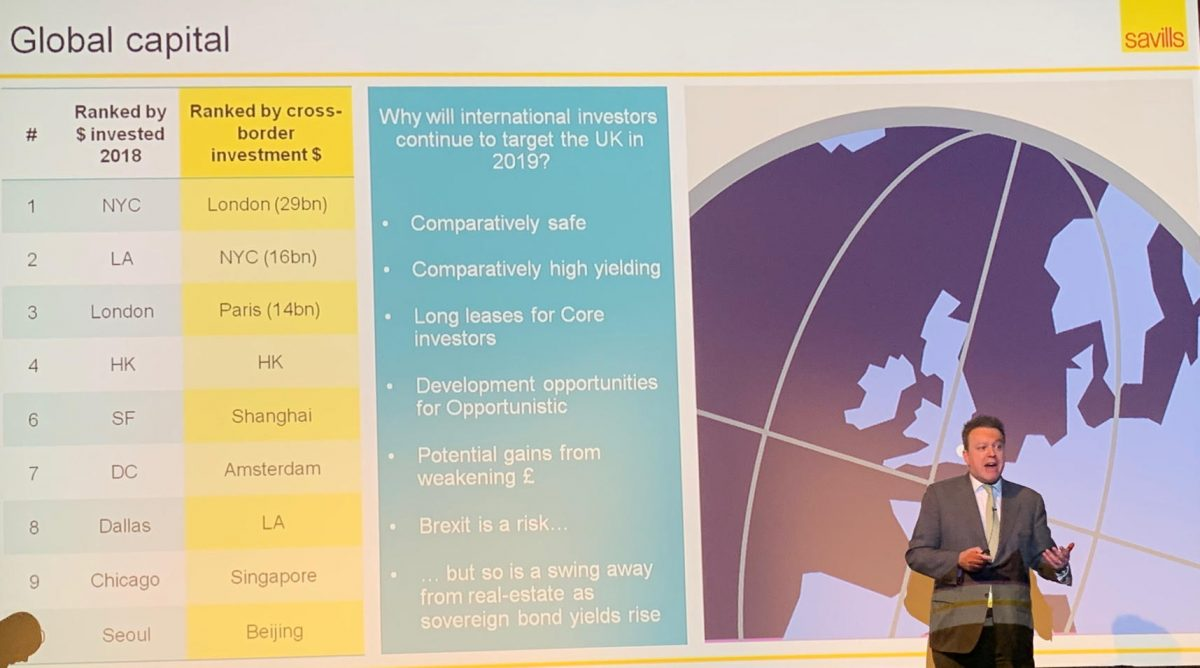 Savills Briefing on 2019 Market Outlook